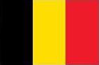 Wegenkaart België en Luxemburg Geocart, 100 x 140 cm